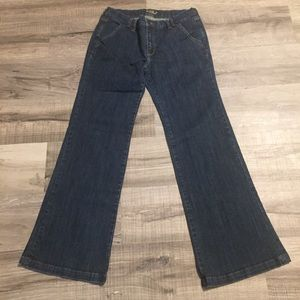 "Old Navy ""The Flirt"" Wide Leg Jeans. Size 8"